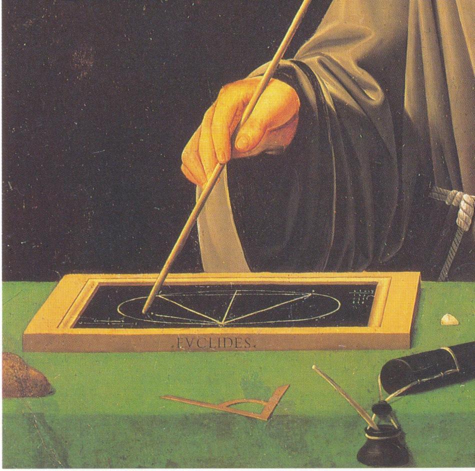 Jacopo Benedetti , Ritratto di Luca Pacioli