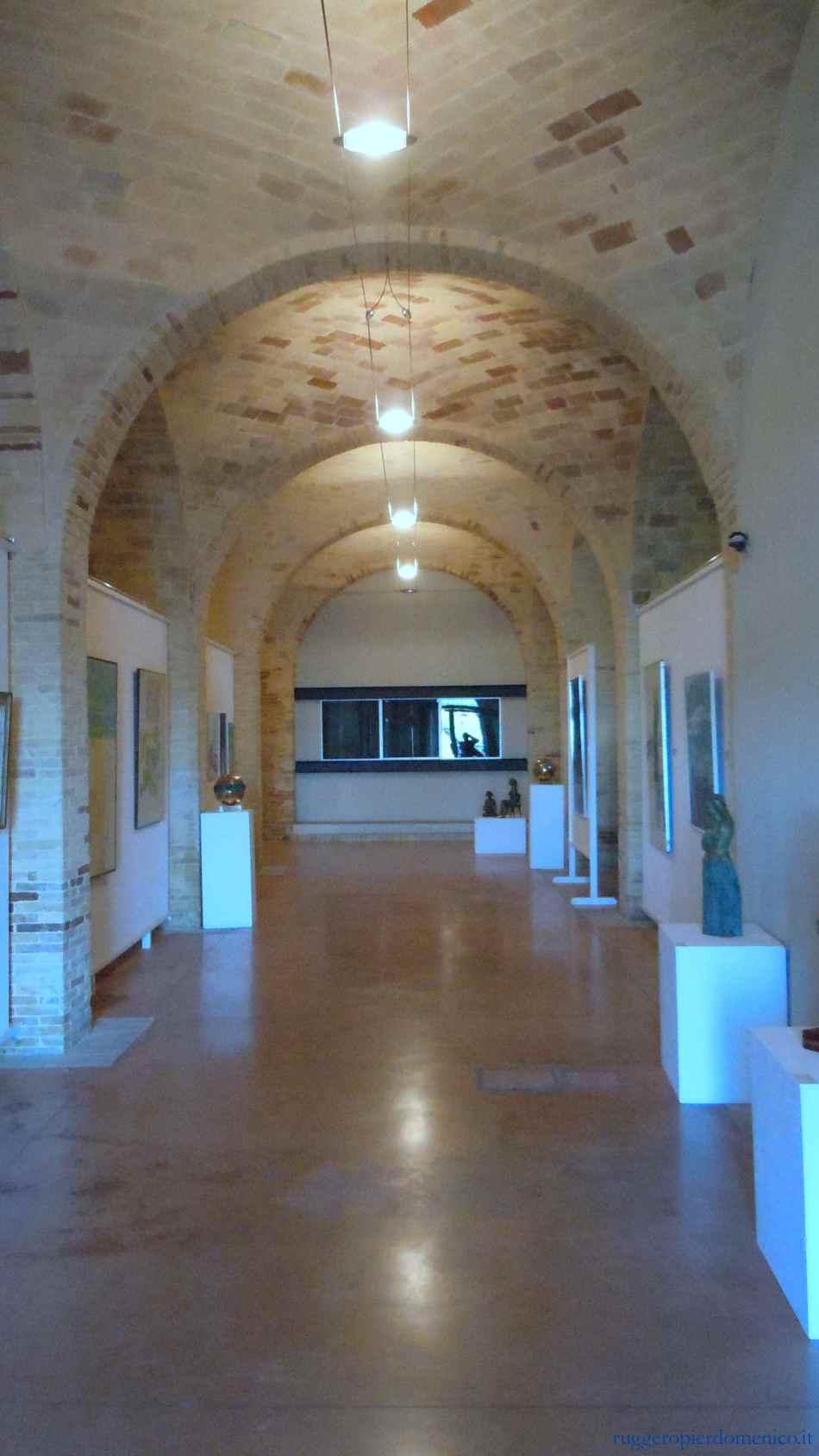 Vasto , Scuderie palazzo d'Aragona, 2014 (ruggeropierdomenico.it)